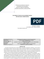Programa de Estudio - Metodologia