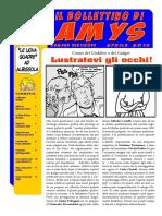 Il Bollettino Di Amys Nr. 29-2016