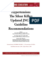 CE Hypertension the Silent K