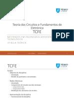 TCFE aulas