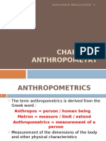 Chapter 3 Anthropometry
