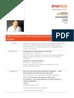 CV -Avansys Flavio Alexis Almanza Huaroc (1)