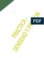 Practica - Densidad Presion