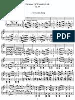 Сцены Сельской Жизни, Op.19