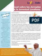 Febrero Boletín Mensual Sobre Las JMJ