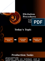 Elicitation Procedures