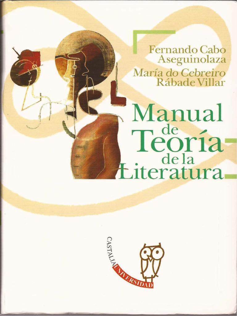 Cabo Aseguinolaza Fernando, Manual de Teoría de La