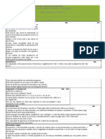Fichas de Avaliação Diagnóstica Para a Educação Infantil