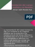 Representación Del Cuerpo Humano Realista y No Realista