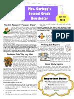 week of 4 18 newsletter