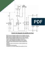 Diagrama Circuito de Desgaste de Pastillas O500U