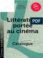 Catalogue Ligaran ebook Adaptation au cinéma