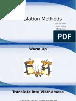 13E16 - Unit 3 - Translation Methods
