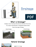 above ground drainage