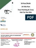 2016 Santa Fe Run Around_Race Flyer