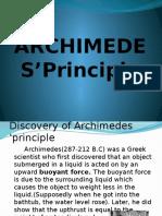 Archimedes'Principle