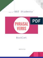 Phrasal Verbs Booklet