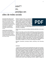 Cabelo de Bombril - Ethos Publicitário, Consumo e Estereótipo
