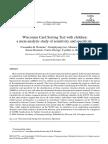 WSCT y Niños