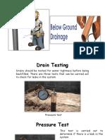 underground drainage part 1