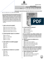 Prueba Diagn¢stica 2§ Espa¤ol (2011)