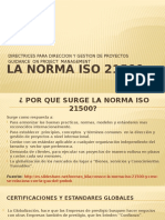 norma iso 2500