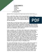 BUF - Cultural Context - week 2.doc
