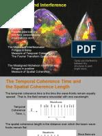 Optics i 18 Coherence Interference