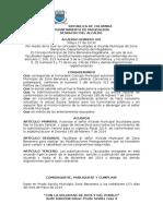 Acuerdo 2014 de Aumento Salarial