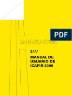 Programa ICAFIR 2006 Manual Del Usuario