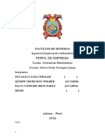 Perfil de La Empresa Oficial