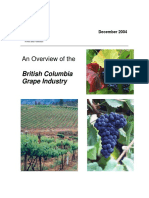 An Overview of the British Columbia Grape Industry