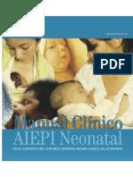 manual clinico neonatologia