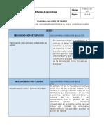 Cuadro Analisis de Casos - cívica