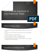 Module III - Documents Involved in International Trade