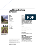 From Ethnography to Design in a Vineyard
