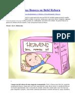 Como Fazer Uma Boneca Ou Bebê Reborn