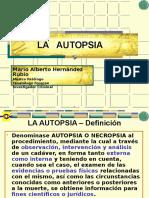 La Autopsia- Diseccion