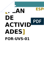 For-uvs-01 Plan de Actividades v2 2015-09-23 - Final