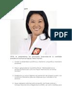 Candidatos 2016 Peru y Sus Propuestas