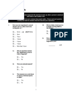 Attachment 25 Trauumatic Life Events Questionnaire