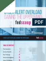 FedScoop Cyber Alert Overload Study. 2016