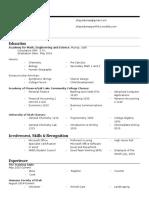 shaye dumas resume