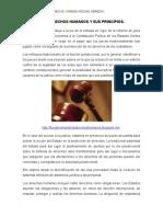 Los Derechos Humanos y Sus Principios.