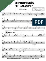 DE PROFESIÓN TU AMANTE - Eddie Santiago - 1° Trompeta en Bb.pdf