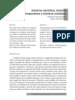 [Texto 01] GUARINELLO, Norberto Luiz - História Científica, História Contemporânea e História Cotidiana