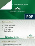 UNC Charlotte Semester Long Project