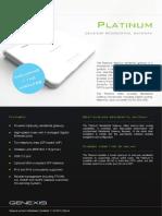 Datasheet Platinum