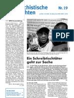 antifaschistische nachrichten 2002 #19