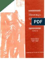 126866967 Historia General de Sonora Tomo III Periodo Mexico Independiente 1831 1883